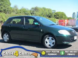 2003 Toyota Corolla GL NZ New Auto Hatchback ** Cash4Cars ...