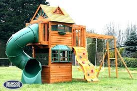 swing set for small yard backyard sets outdoor playsets yards ideas sma