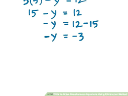 addition method algebra math image titled solve simultaneous equations using elimination method step math for