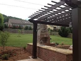 ... Arbors Direct Fiberglass Fireplace and Kitchen Pergola-CUSTOM - Perfect  Arbors - 2 ...