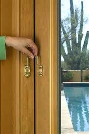 sliding menards security doors door bar patio locks type