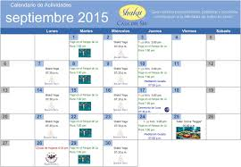Shakti Casa Del Ser Calendario Del Mes De Septiembre 2015 Te