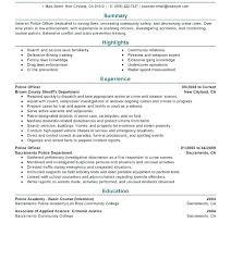 Probation Officer Resumes Probation Officer Cover Letter Resume Tutorial Pro