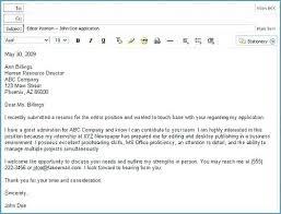 Emailing Resume Template Template For Sending Resume In Email Skinalluremedspa Com