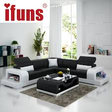 ifuns cheap sofa sets home furniture wholesale white leather l shape modern design recliner chaise corner sofa fr buy chaise lounge leather