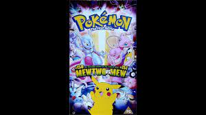 Opening to Pokémon The First Movie VHS UK - YouTube