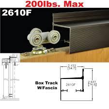 picture of 2610f wall mount sliding door hardware