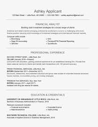 Beginner Accounting Resume Examples New Image Entry Level Finance