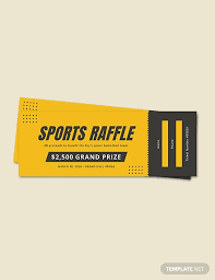 Sample Raffle Tickets Free Holiday Raffle Ticket Template Download 96 Tickets In Psd