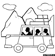 Small Picture Vehicle Online Coloring Pages Page 1
