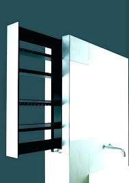 mirrored wall shelves with storage mirror angled shelf panel