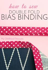 517 best Quilts - Finishing & Binding (Sides, Edges, Angles ... & How to Sew DOUBLE FOLD Bias Tape for Beginners Adamdwight.com