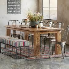 Reclaimed Wood Table Robert Redfords Sundance Catalog - School dining room tables