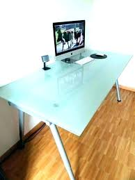 glass top desk ikea desk glass top desk for the home glass top desk table outstanding