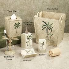 palm tree bathroom set qdpakq com