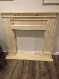 diy faux fireplace mantel for great build a fireplace surround
