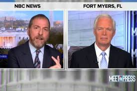 Chuck Todd Asks Ron Johnson Why He Also Doesn't Have Hearings About the  Moon Landing