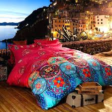 king size bed quilts luxury bedding sets queen king size bedclothes bohemian duvet cover set duvet cover set bohemian comforter bed california king size bed