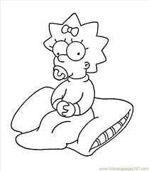 Maggie Coloring Pages