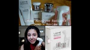 lakme absolute radiance kit with free mager how to use and review minsha kapoor