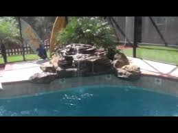 inground pools with waterfalls. Adding Cascading Rocks Waterfall To Your In-Ground Pool Inground Pools With Waterfalls I