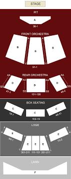 Wolftrap Seating Chart Wolf Trap Vienna Va Seating Chart Stage Washington