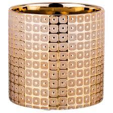 <b>Ваза</b> Lefard, 112-461, золотистый, высота 13 см — купить в ...