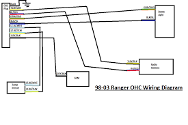 helpful wiring diagrams ranger forum ford truck fans heres a few ive made to make doing the ohcs a little easier