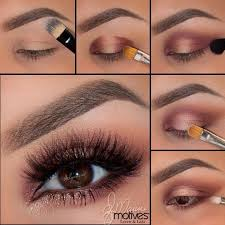 shimmery eye makeup for fall makeup tutorial womentriangle