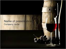Wine Powerpoint Template Red Wine Powerpoint Template Backgrounds Google Slides Id