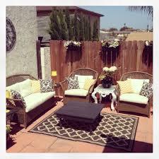 Black And White Patio Design Ideas Yellow Black And White Outdoor Patio Decor Outdoor Rooms