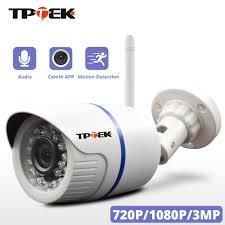 HD 1080P Camera IP Wifi Ngoài Trời Gia Camera An Ninh 720P 3MP Giám Sát  Không Dây Wi Fi Viên Đạn Chống Nước IP onvif Camara Cam|Camera giám sát