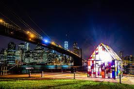 Dumbo Light Festival 2017 Houses Robotspacebrain