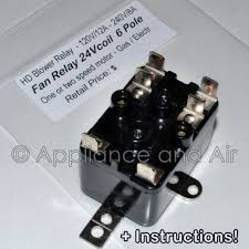 lennox furnace prices. Lennox Furnace Fan Blower Relay 13W13 Repl. 24V 6-pole + Instructions Prices I