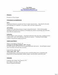 Travel Agent Resume Travel Agent Resume Skills Sample Australia
