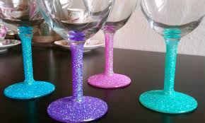 Best Dishwasher For Wine Glasses Cupcakes Couture Diy Glitter Wine Glasses
