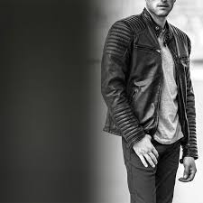 men s leather jacket summer collection