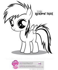 Mlp Coloring Pages Heart Ponies With Free Printables My Little Pony