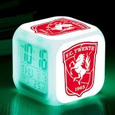Football Club Twente <b>LED</b> Alarm <b>Clock</b> reloj despertador ...