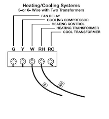 only two wires for thermostat thermostat wire thermostat thermostat 6 wire thermostat wiring diagram at 6 Wire Thermostat Wiring Diagram