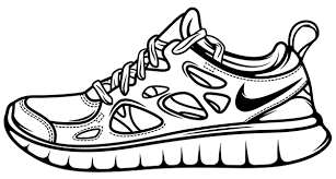 nike shoes drawings. pin drawn shoe nike trainer #4 shoes drawings