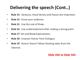 the art of using humor in public speaking  24 delivering the speech