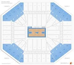 Tar Heels Basketball Seating Chart Dean Smith Center Map Dean Dome Seating Chart Unc Dean E