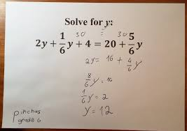 for older students the abstract solution approach provides a transition to solving these equations without the manipulatives level ii has fractional