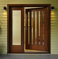 wood front doors with glass interior wood door with glass panel home decor amazing designing solid wood front doors no glass