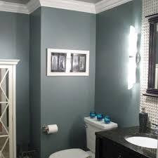 Gray And Blue Bathroom Rlkw