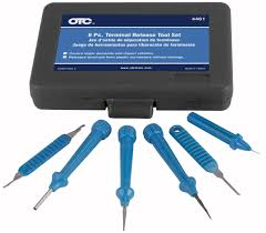 dash wire harness pin removal corvairforum com otc 4461 6 piece terminal release tool set case