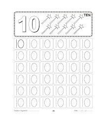 number trace worksheet for kids (9)   hazırlık çlşm   Pinterest ...