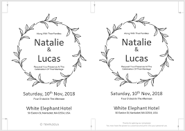 Basic Invitation Template 13 Free Templates For Creating Event Invitations In Microsoft Word
