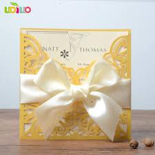 best sell indian wedding invitation card square paper pocket wedding laser cut simple flower design